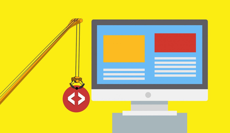 Como é feito o processo de criação de um site?