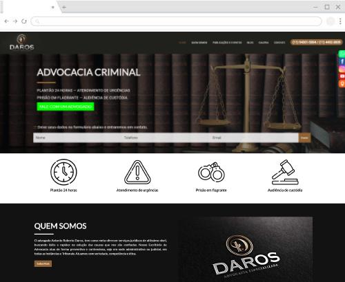 plataforma de criação de site